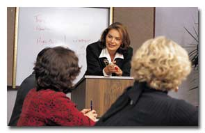 Allison Warner provides quality presentations for you group or office.